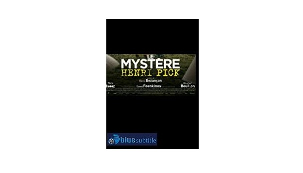 Free Download subtitle The Mystery of Henri Pick 2019 All Language